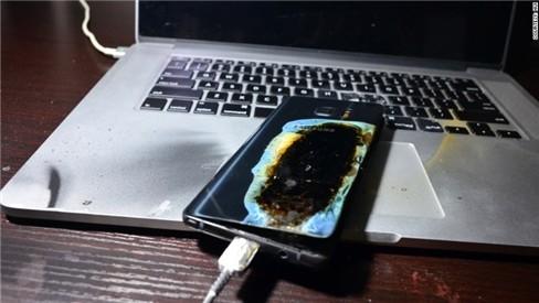 Galaxy Note 7 phiên bản an toàn... vẫn cháy ảnh 4