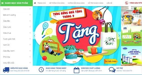 Vinamilk ra mắt website thương mại điện tử Giấc mơ sữa Việt ảnh 1
