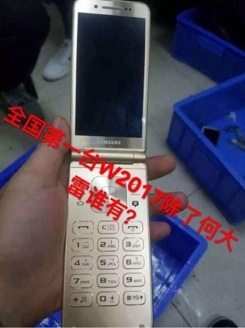 Smartphone nắp gập cao cấp của Samsung sắp ra mắt ảnh 3