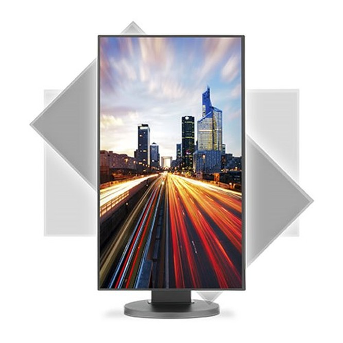 Ngắm màn hình NEC EX241UN 24-inch, viền siêu mỏng 0,8mm ảnh 3