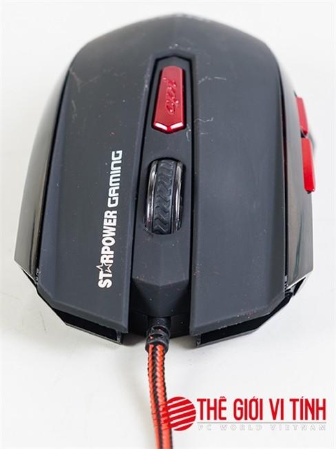 Cận cảnh chuột chơi game Intex StarPower Color IT-GM003