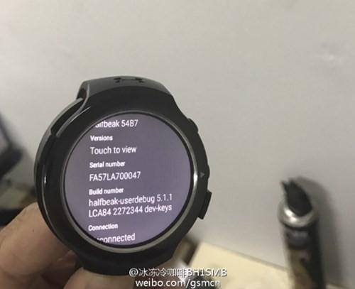 Đồng hồ thông minh HTC lộ diện ảnh 1