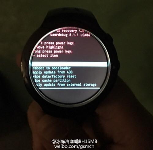 Đồng hồ thông minh HTC lộ diện ảnh 3