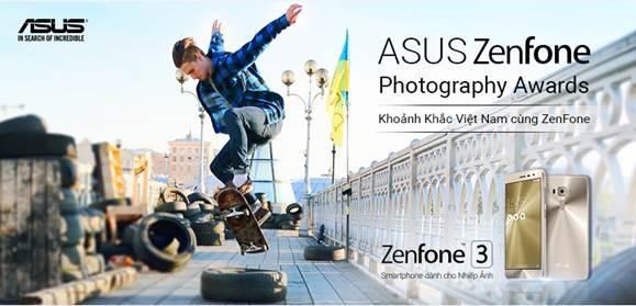 Chụp ảnh bằng Asus ZenFone cơ hội trúng thưởng ZenFone 3 ảnh 1
