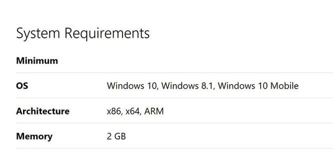 Facebook và Messenger cho Windows 10 Mobile cần tới 2GB RAM ảnh 1
