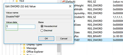 Ngăn Outlook gửi tập tin đính kèm Winmail.dat ảnh 2