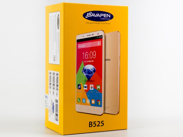 Cận cảnh smartphone Bavapen B525 giá dưới 2 triệu đồng ảnh 1