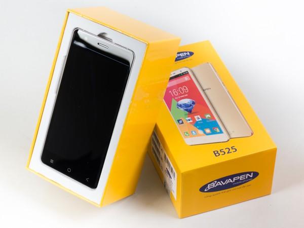 Cận cảnh smartphone Bavapen B525 giá dưới 2 triệu đồng ảnh 2