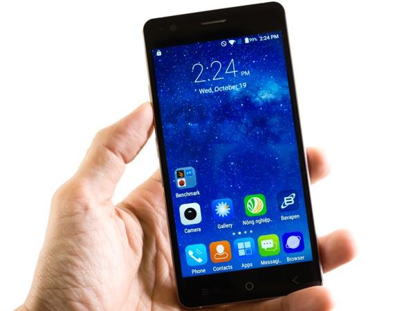 Cận cảnh smartphone Bavapen B525 giá dưới 2 triệu đồng ảnh 3