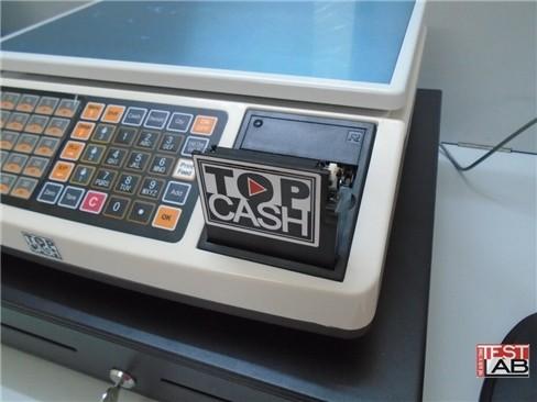 Hộc chứa giấy cuộn in hoá đơn, dạng máy in nhiệt.
