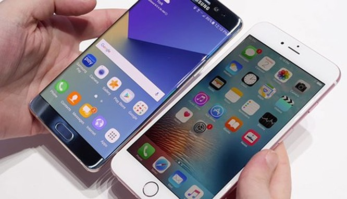 Khoảng 5-7 triệu khách hàng Samsung chuyển sang iPhone 7 ảnh 1