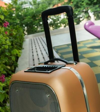 Cận cảnh loa vali hỗ trợ karaoke Soundmax M-6 ảnh 3