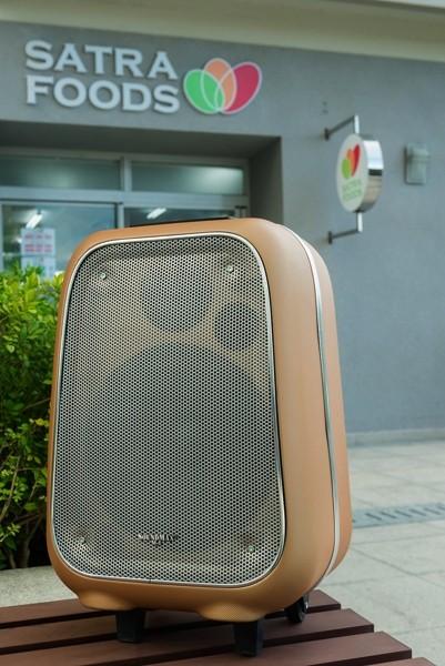 Cận cảnh loa vali hỗ trợ karaoke Soundmax M-6 ảnh 4