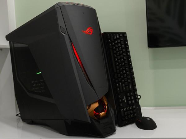 Cận cảnh PC chuyên game Asus ROG GT51 giá 60 triệu đồng ảnh 1