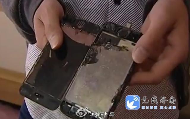 Đến lượt iPhone 5S cháy ảnh 1