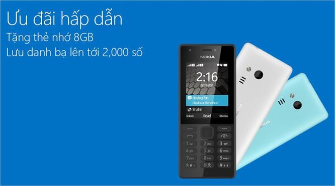 Nokia 216 kèm MicroSD 8GB lên kệ Việt giá 820 nghìn ảnh 1