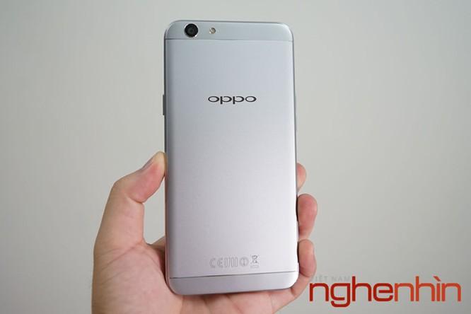 Mở hộp Oppo F1s xám đen, bản giới hạn giá không đổi ảnh 7