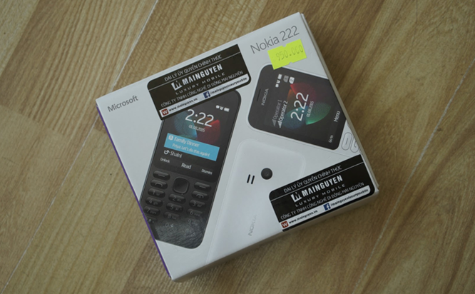 Trên tay Nokia 222 màu đen bóng giá 950 nghìn ảnh 13