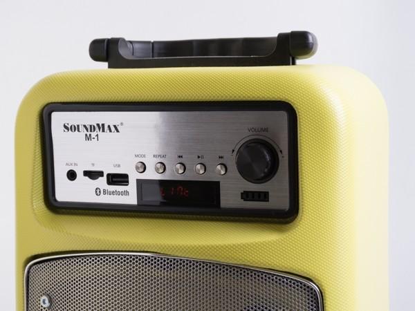 Cận cảnh loa di động đa năng Soundmax M-1 ảnh 2