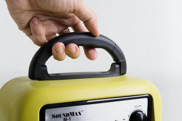 Cận cảnh loa di động đa năng Soundmax M-1 ảnh 4