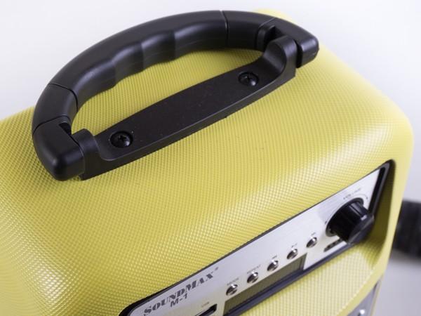 Cận cảnh loa di động đa năng Soundmax M-1 ảnh 5