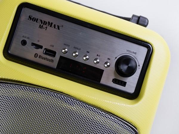 Cận cảnh loa di động đa năng Soundmax M-1 ảnh 6