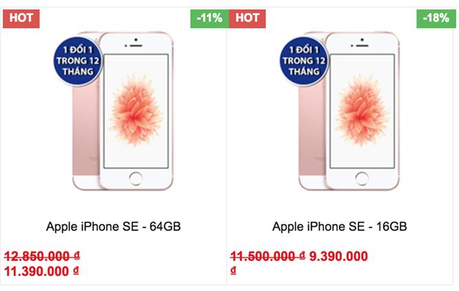 iPhone SE giảm giá sốc 3 triệu đồng đón iPhone 7 ảnh 3