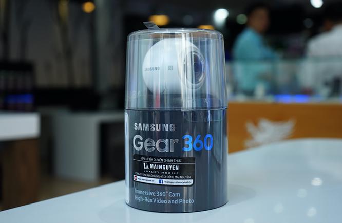 Cận cảnh Samsung camera Gear 360 giá 7 triệu đồng ảnh 16