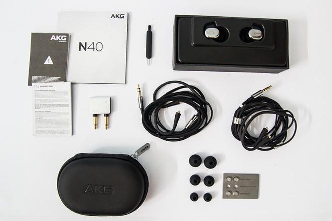 Mở hộp tai nghe AKG N40 - Kẻ thừa kế K3003 ảnh 4