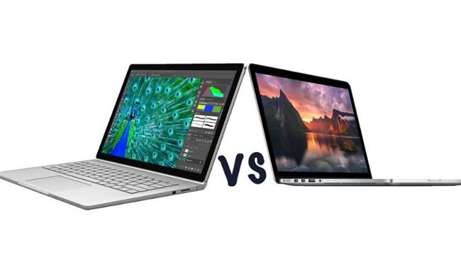 So sánh nhanh Surface Book và MacBook Pro mới nhất ảnh 1