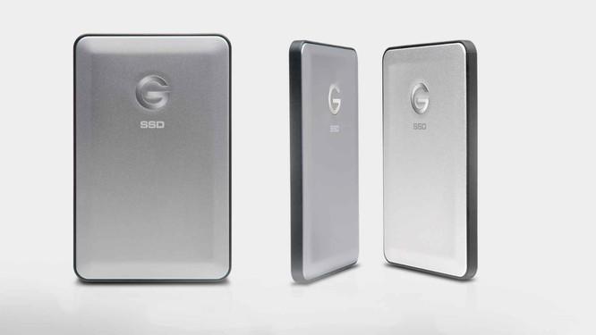 G-Technology ra mắt ổ SSD gắn ngoài siêu nhanh ảnh 1