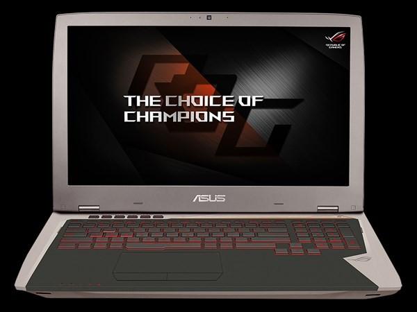 Asus ra mắt laptop chuyên game ROG G701VI ảnh 1