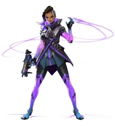 Nhân vật Sombra khiến trò chơi Overwatch thêm nóng ảnh 1