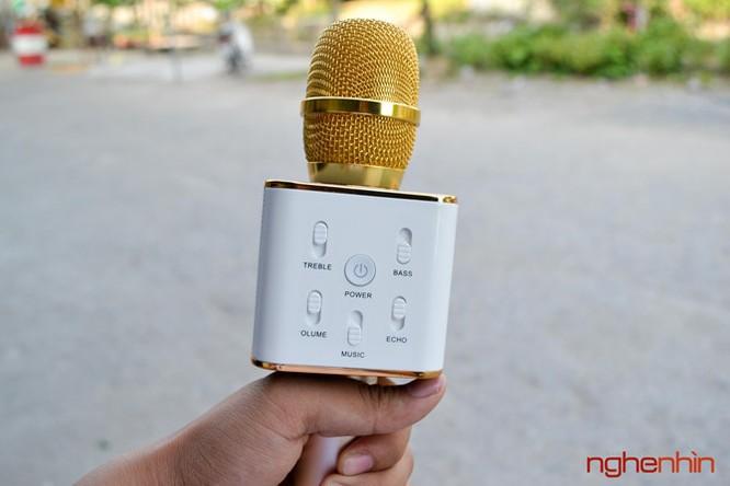 Trên tay Micro Bluetooth tích hợp loa phát Tuxun Q7 ảnh 3