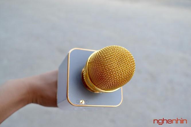 Trên tay Micro Bluetooth tích hợp loa phát Tuxun Q7 ảnh 6