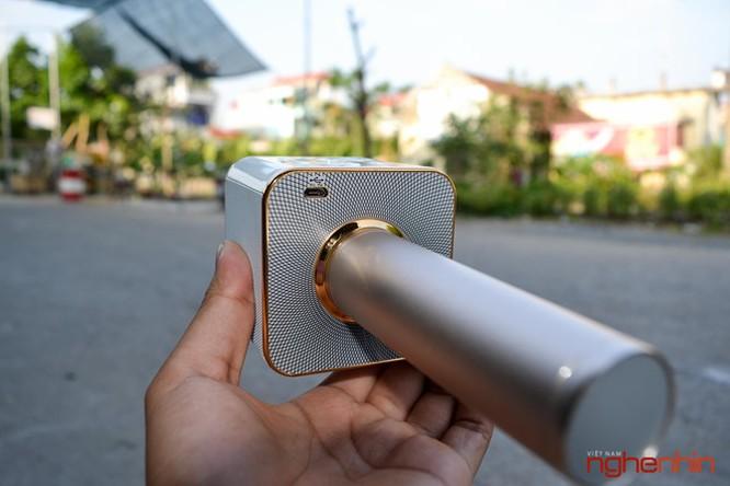 Trên tay Micro Bluetooth tích hợp loa phát Tuxun Q7 ảnh 5