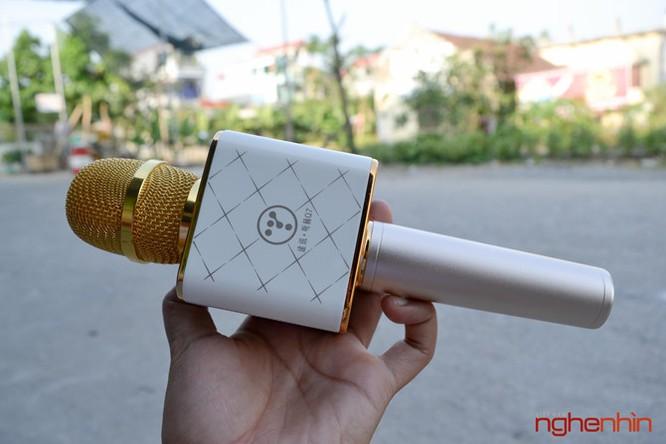 Trên tay Micro Bluetooth tích hợp loa phát Tuxun Q7 ảnh 1