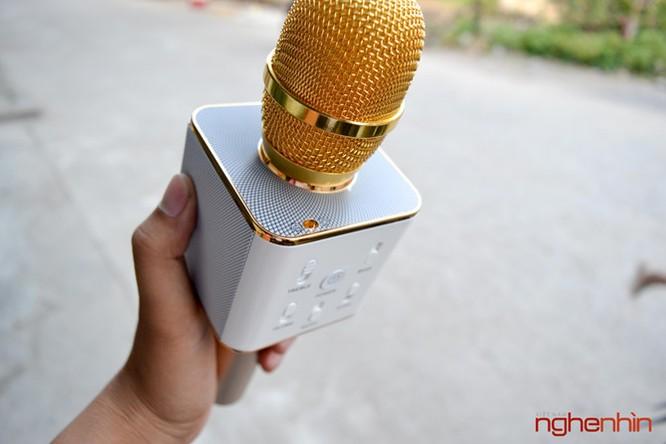 Trên tay Micro Bluetooth tích hợp loa phát Tuxun Q7 ảnh 4