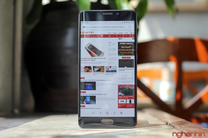 Trên tay Xiaomi Mi Note 2 bản Jet Black vừa 'cập bến' ảnh 12