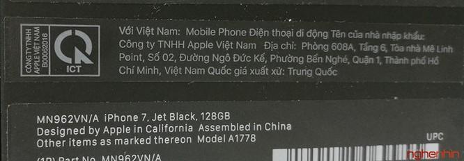 Mở hộp iPhone 7 series chính hãng tại Việt Nam ảnh 2