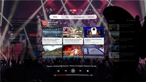 Một số hình ảnh về YouTube VR