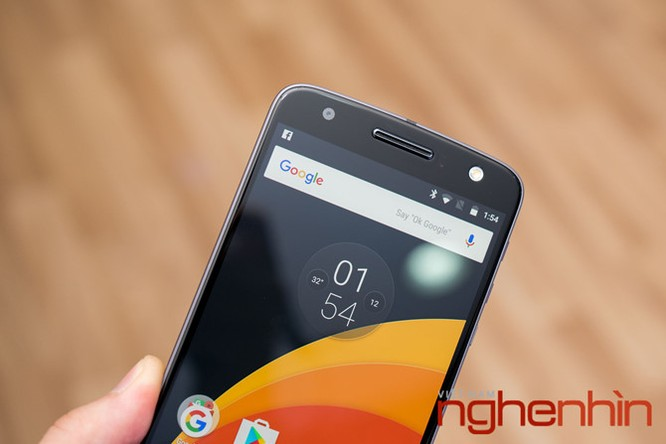 Xem kỹ smartphone Moto Z vừa lên kệ Việt giá 16 triệu ảnh 7