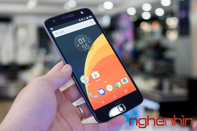 Xem kỹ smartphone Moto Z vừa lên kệ Việt giá 16 triệu ảnh 9