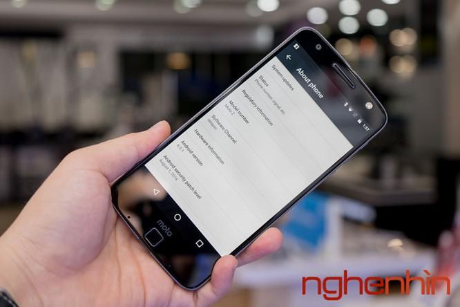 Xem kỹ smartphone Moto Z vừa lên kệ Việt giá 16 triệu ảnh 11