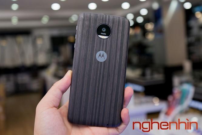 Xem kỹ smartphone Moto Z vừa lên kệ Việt giá 16 triệu ảnh 12