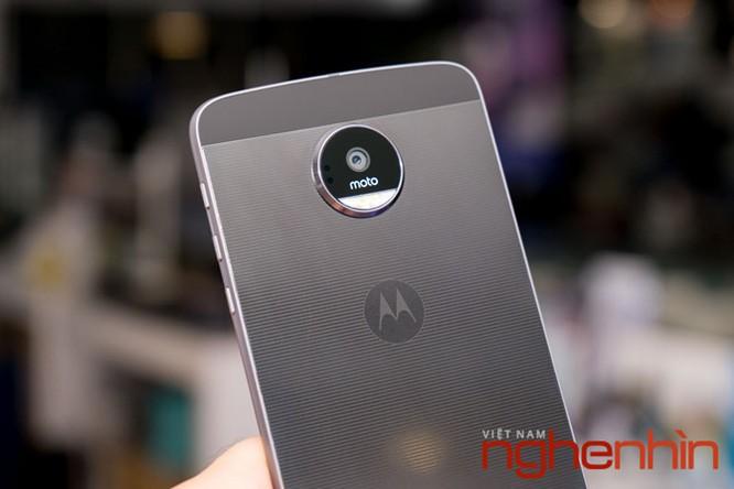 Xem kỹ smartphone Moto Z vừa lên kệ Việt giá 16 triệu ảnh 1