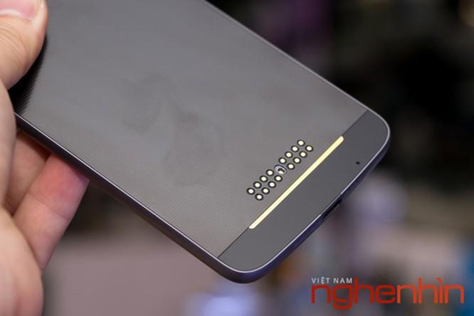 Xem kỹ smartphone Moto Z vừa lên kệ Việt giá 16 triệu ảnh 2