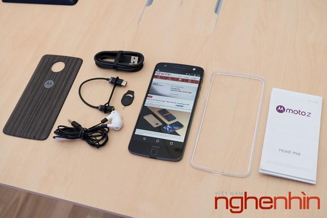 Xem kỹ smartphone Moto Z vừa lên kệ Việt giá 16 triệu ảnh 18