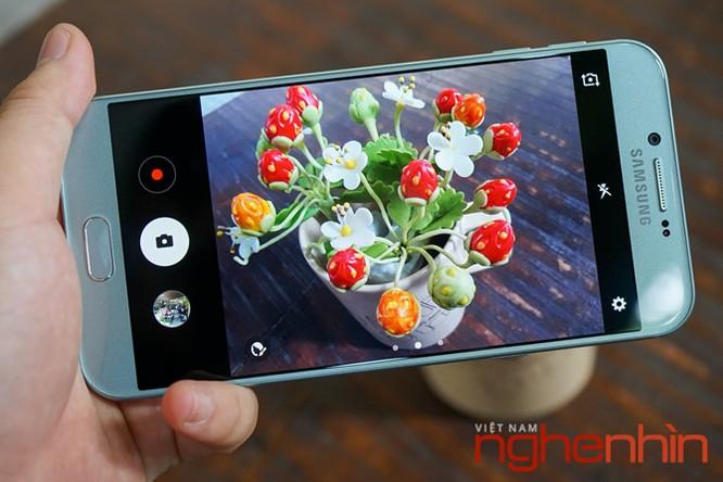 Trên tay Galaxy A8 2016 đầu tiên Việt Nam giá 9 triệu ảnh 16