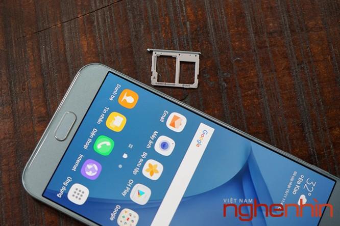 Trên tay Galaxy A8 2016 đầu tiên Việt Nam giá 9 triệu ảnh 18